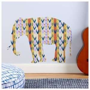 Kids Room Décor: Colorful Elephant Wall Decals, Elephant