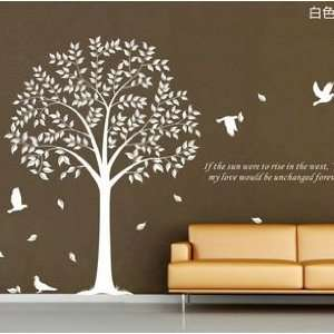 Wall Decor Decal Sticker Removable Vinyl Tree Large