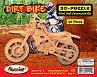 3D Puzzle HARLEY DAVIDSON MOTORCYCLE Woodcraft
