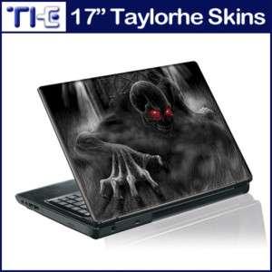 17 Laptop Skin Sticker Decal Crawling Zombie Dark 05