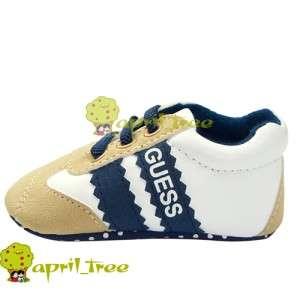New Toddler Baby Boy Infant shoes Sneaker Prewalker soft soled(C89