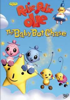 Rolie Polie Olie The Baby Bot Chase (DVD)