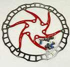 Ashima Airotor Mountain Bike Disc Brake Rotor MTB 160mm 160 mm Red 85g