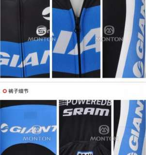 2012 NEW Cycling Bicycle bike Comfortable Outdoor Jersey + Shorts Size