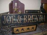 PRIMITIVE CUSTOM NAME SIGN~~ALL MY LOVE~ALL MY LIFE~~