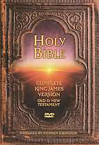 Holy Bible King James Version   Complete Bible   2 Disc Set (DVD