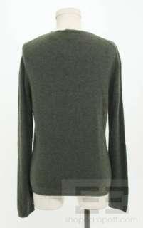 MAG 2 Piece Dark Green Cashmere Twinset Size M