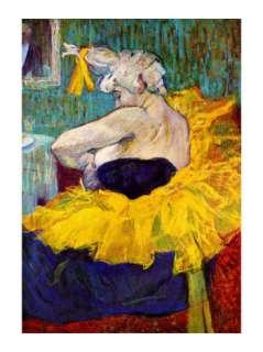 The Lady Clown Cha U Kao Giclee Print by Henri de Toulouse Lautrec at