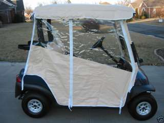 GOLF CART ENCLOSURE COVER CLUB CAR DS PRECEDENT EZGO T