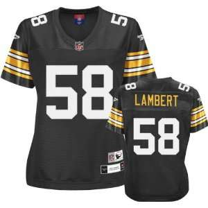 Reebok Pittsburgh Steelers Jack Lambert Womens Throwback