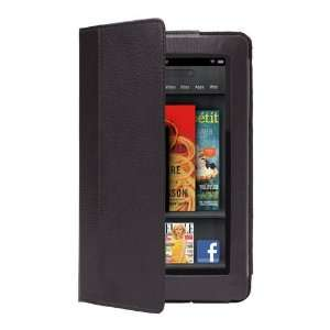 CE Compass Black PU Leather Folio Cover Case Stand for