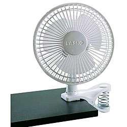 Lasko 6 inch 2 speed White Clip Fan