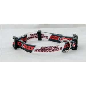 Carolina Hurricanes NHL Pet Collar Adjustable 1 Web
