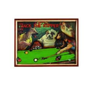 Dogs Playing Pool Sign: Patio, Lawn & Garden