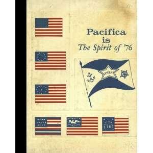 Reprint) 1976 Yearbook Pacifica High School, Garden Grove, California