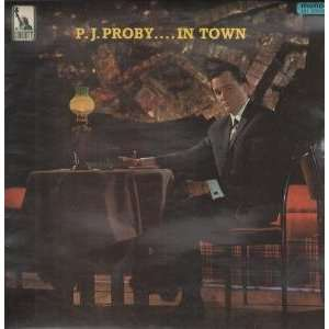 IN TOWN LP (VINYL) UK LIBERTY 1965 P.J. PROBY Music
