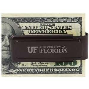 Florida Gators Black University Etched Money Clip Sports