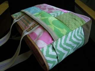 NWT Coach Hamptons LG Weekend Multicolor Patchwork Gallery Tote Bag