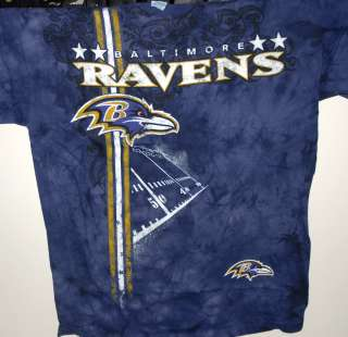 BALTIMORE RAVENS NFL FOOTBALL ALL PRO DESIGN T SHIRT NEW