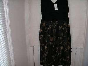 Fashions Plus Size Black Cocktail Dress