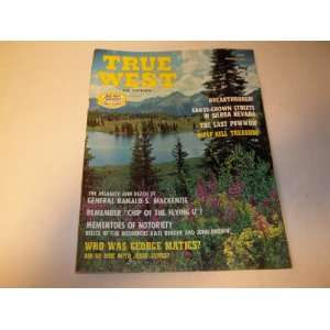 West Magazine October 1971 (All True All Fact Stories of The Real West