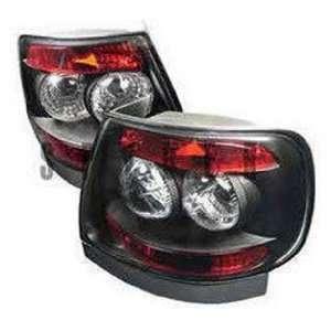 Honda Accord 1998 2000 2DR Altezza Tail Lights   Black