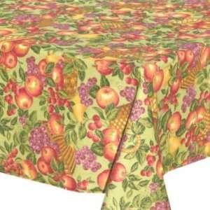 Fruit Basket (green) Table Cloth   48 x 48