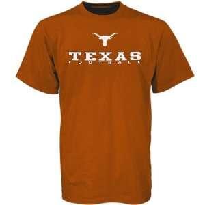 Texas Longhorns Burnt Orange 2006 Football Schedule T
