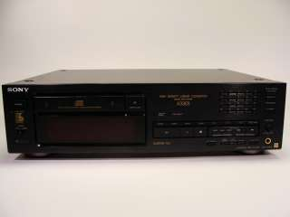 Nice Sony ES Line Compact Disc CD Player / Recorder Model CDP X33ES