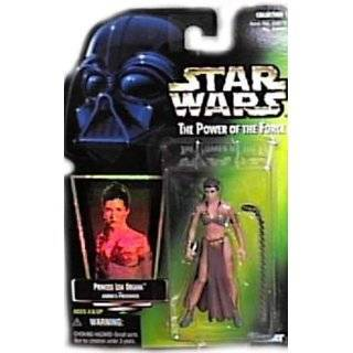 Star Wars Power of the Force Green Card Hologram 3 3/4 Princess Leia