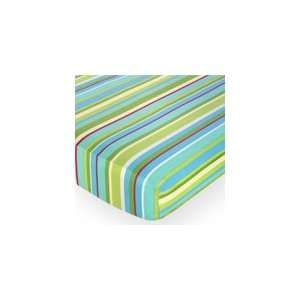 Fitted Crib Sheet for Baby/Toddler Bedding Sets   Designer Stripe