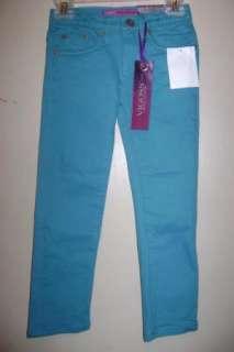 Vigoss Amethyst Collection Girls Skinny Jeans 5 NWT
