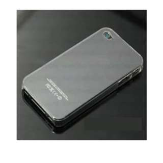 NEW ULTRA THIN CLEAR HARD IPHONE 4 CASE + CLEAR F/B SCREEN PROTECTORS
