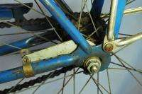 Schwinn Tiger balloon tire bicycle bike skiptooth blue hornet wasp