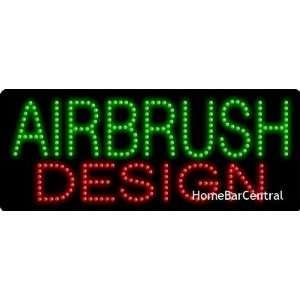Airbrush Design LED Sign   20006
