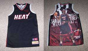 SHAQUILLE ONEAL #32 Miami Heat Basketball Jersey  YL