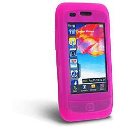 Hot Pink Silicone Case for Samsung Rogue U960