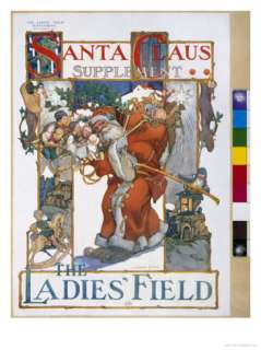 Father Christmas, The Ladies Field Magazine, Santa Claus Supplement