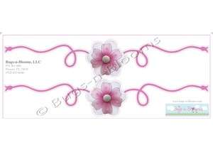 FLOWER girl room SCROLL vinyl decor STICKERS daisies mural name girls