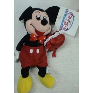 Disney Mickey Mouse Valentine Bean Bag Plush Everything