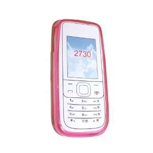 Modern Tech Pink Gel Case for Nokia 2730 Cell Phones & Accessories