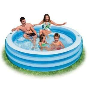 New Intex Swim Center Blue Round Pool Stylish Modern Design Popular