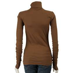Stephanie B Womens Long sleeve Turtleneck Shirt
