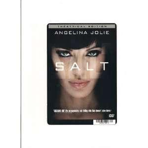 SALT ANGELINA JOLIE CARD STOCK PHOTO 8 X 5.5 Everything