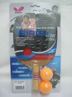 Butterfly Biriba 61 Penhold Table Tennis Paddle