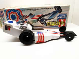1975 IDEAL EVEL KNIEVEL FORMULA 1 DRAGSTER In Original Box
