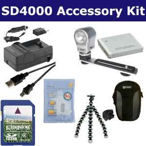 Accessory Kit includes: ZELCKSG Care & Cleaning, KSD4GB Memory Card