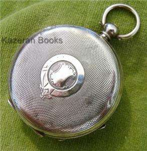 Antique Solid Silver Case H Samuel Acme Fob Pocket Watch
