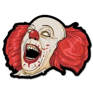 Evil Clown car styling auto moto sticker 5 x 4