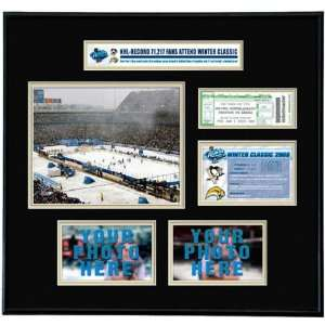 Pittsburgh Penguins   NHL Winter Classic   Ticket Frame